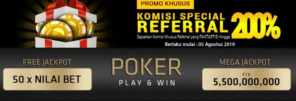 Spesial Referral 200% Pokerace99